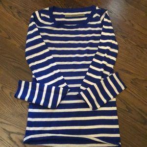 Enza Costa striped sweater size Small